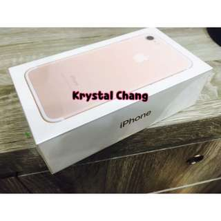 🚚 iPhone7 32g 空機 玫瑰金 可面交 全新 保固一年 iphone7 apple 蘋果 iPhone7空機