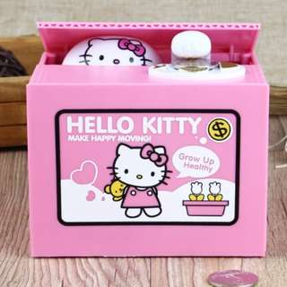 Hello Kitty Mischief Stealing Coin Bank #freepostage