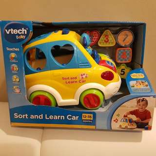 Vtech Sort And Learn Car