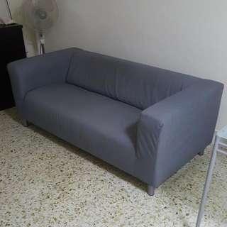 Used Klippan sofa 2 seater
