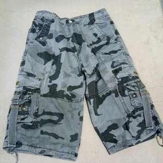 Army High Waisted Shorts