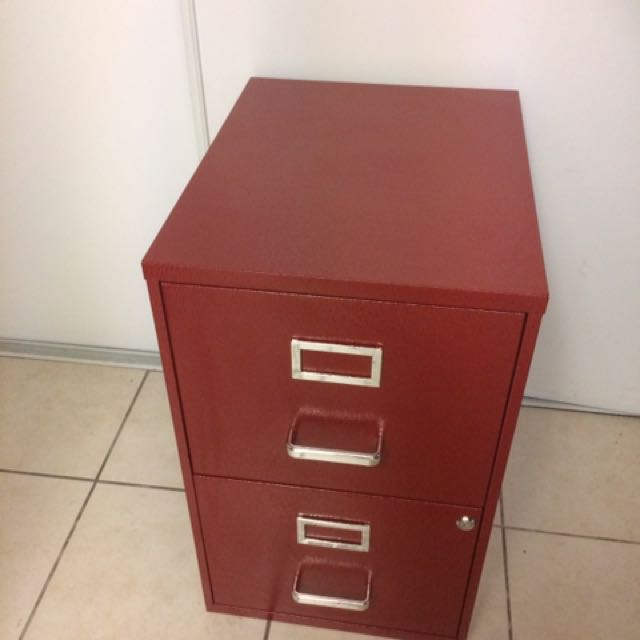 2draw Filing Cabinet With Keys