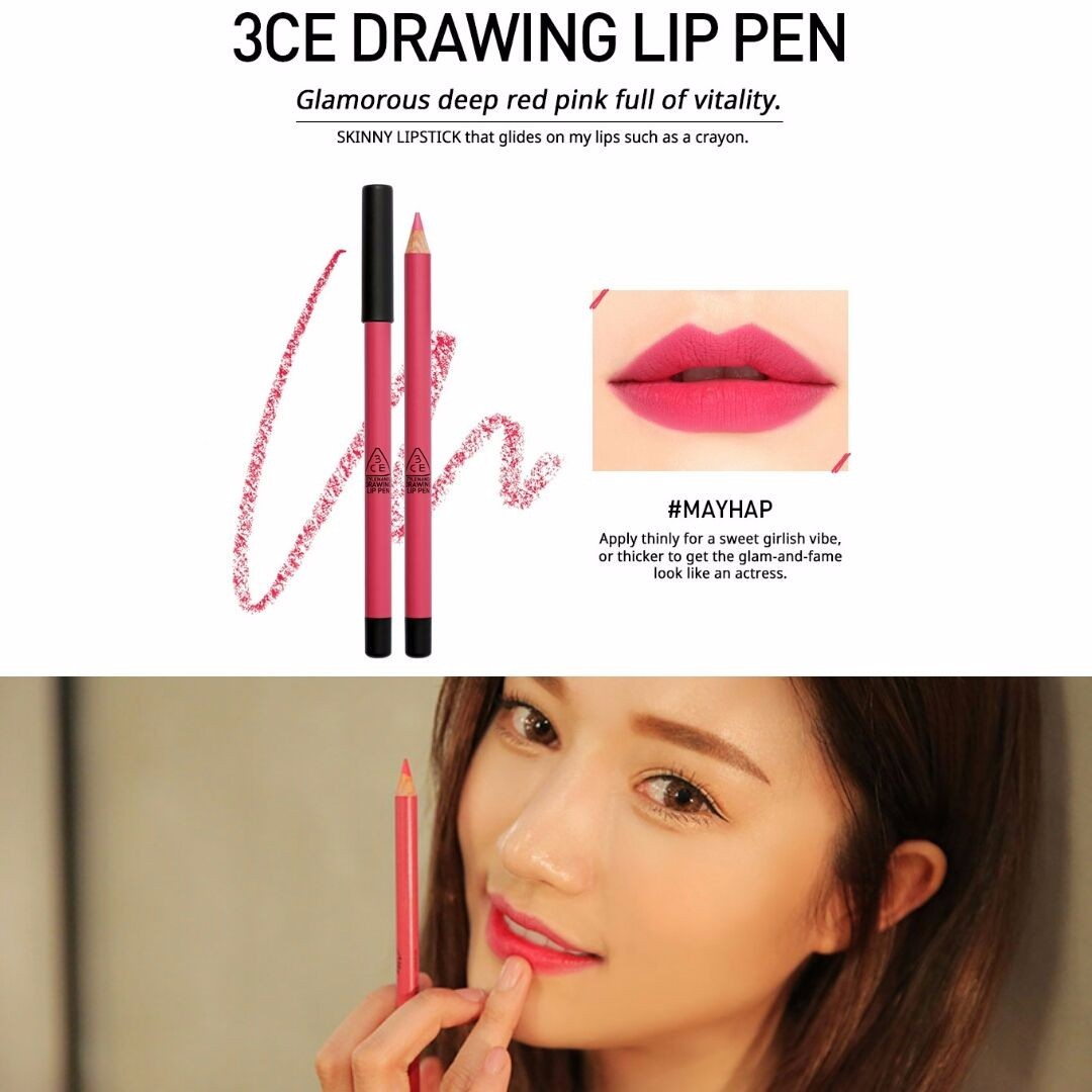 3CE - Drawing Lip Pen Butter Pink