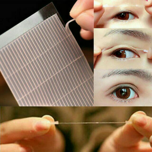 50 pcs. (25 pairs) Eyelid Fiber