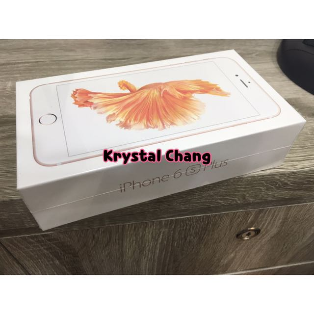iPhone6s Plus 32g 空機 玫瑰金 可面交 全新 保固一年 iphone6splus空機 apple 蘋果 iPhone6splus空機