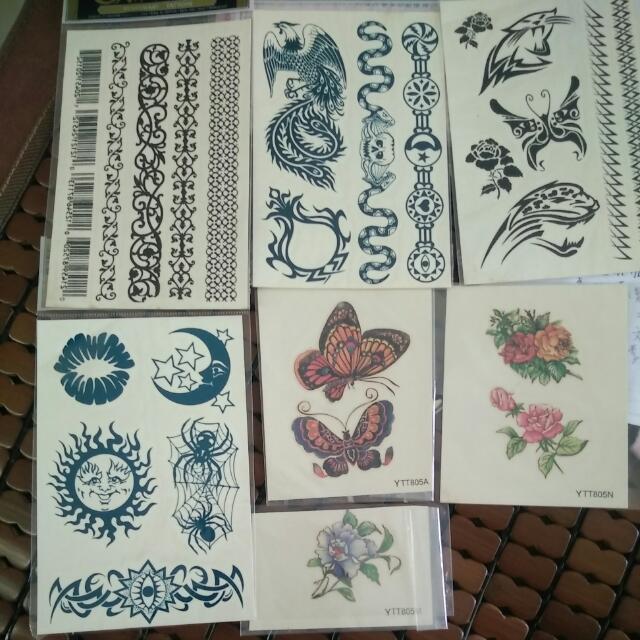 紋身貼紙 #0元贈品區
