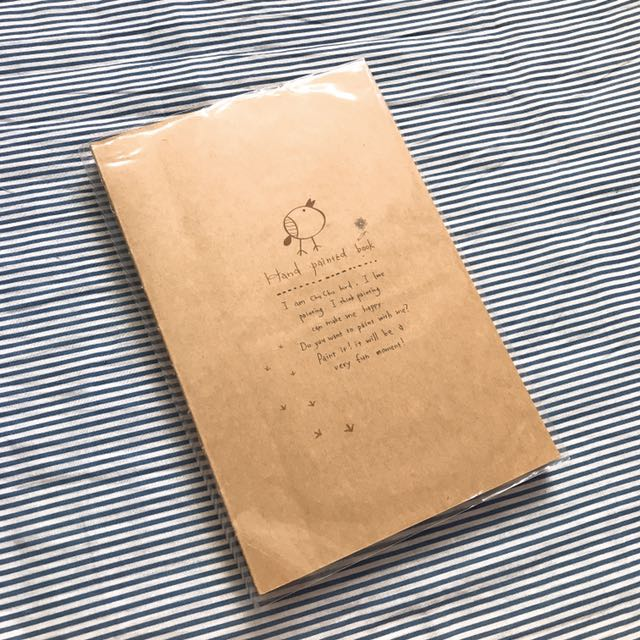 文具:牛皮筆記本