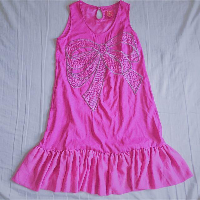 夢幻桃粉洋裝