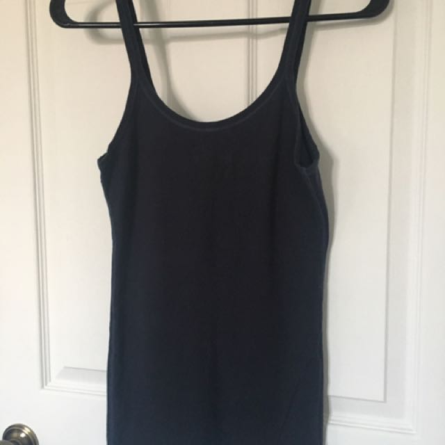Abercrombie & Fitch Blue Tank Top