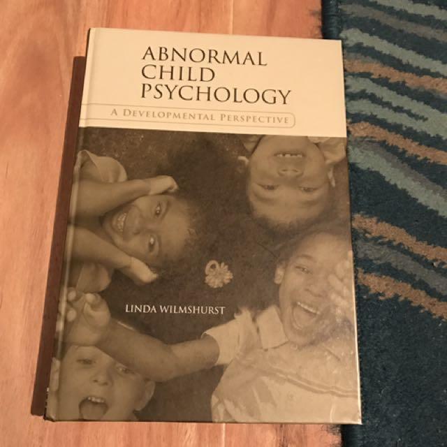 Abnormal Child Psychology: A Developmental Perspective