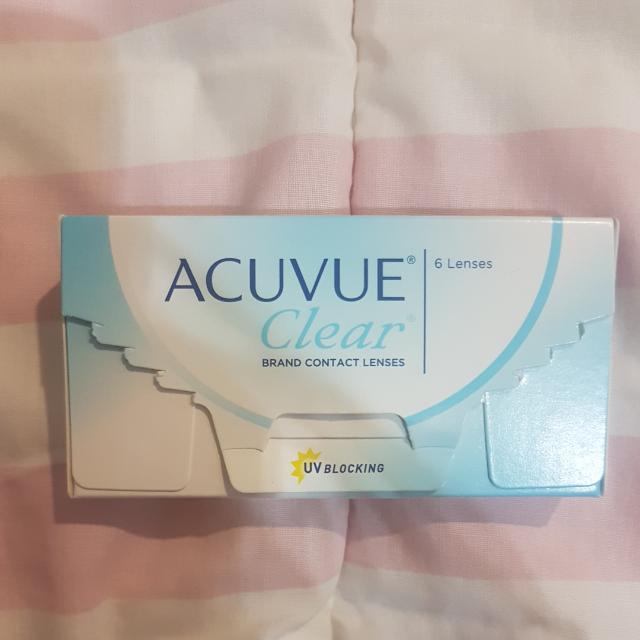 ACUVE CLEAR CONTACT LENSE MONTHLY USE