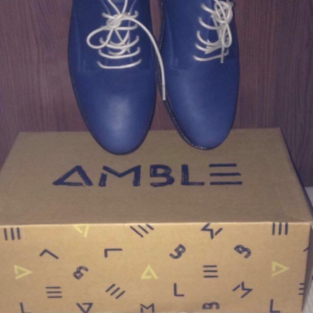 Amble Footwear Carter Blue