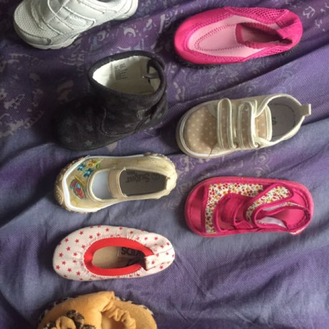 Assorted Baby Shoes/Sandals Bundle
