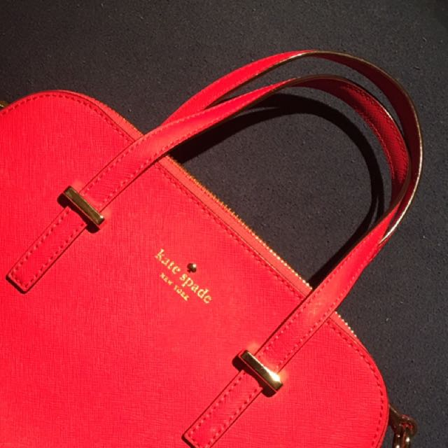 AUTH Kate Spade Bag with long strap