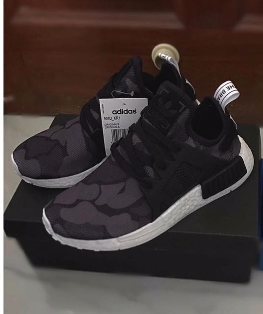 0c0381a89 Authentic ADIDAS NMD XR1 Black Camo