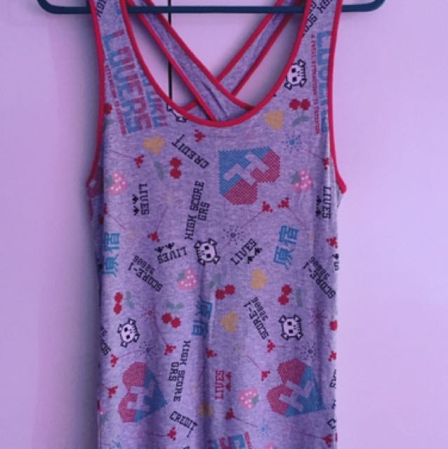 Authentic Harajuku Lovers Tank Top