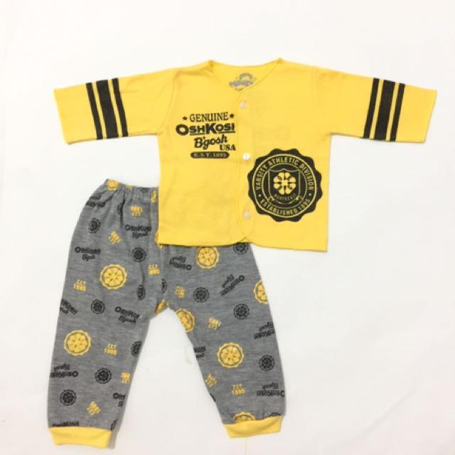 Setelan Baju Tidur Baby NB Newborn