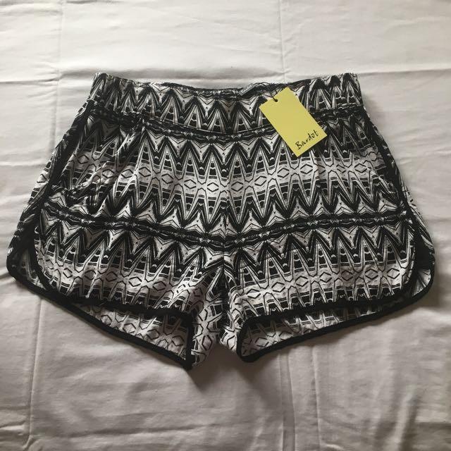 BARDOT printed shorts