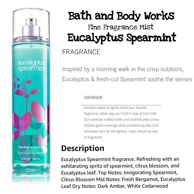 Bath And Body Wolks: Eucalyptus Spearmint