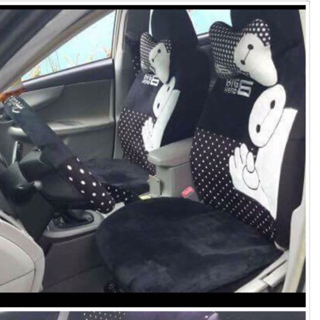 BAYMAX 2 CAR SEAT & ACCESSORIES COVERS