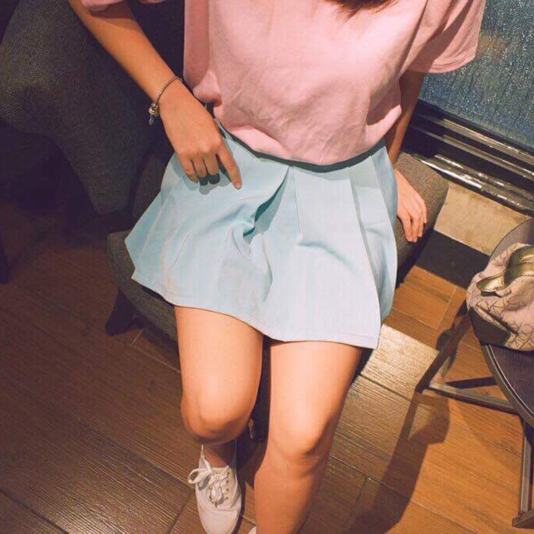 BF Tee in Pastel Pink