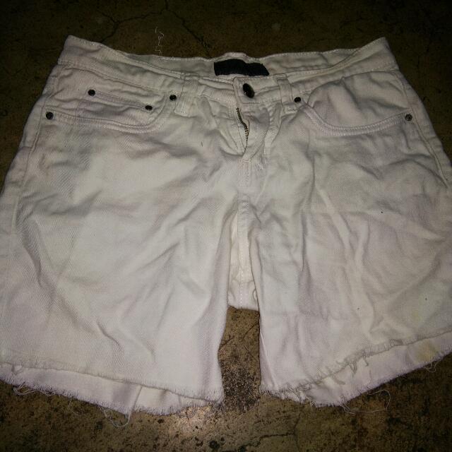 BNY White Shorts