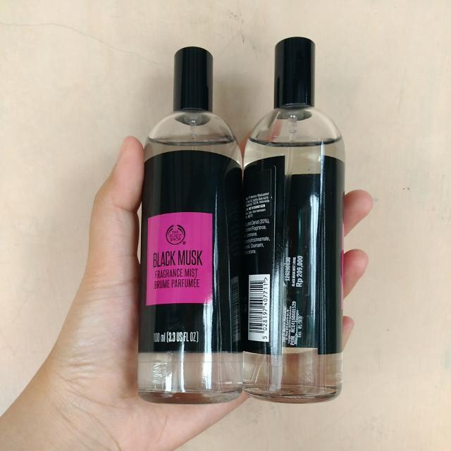 Parfum The Body Shop Black Must 100ml