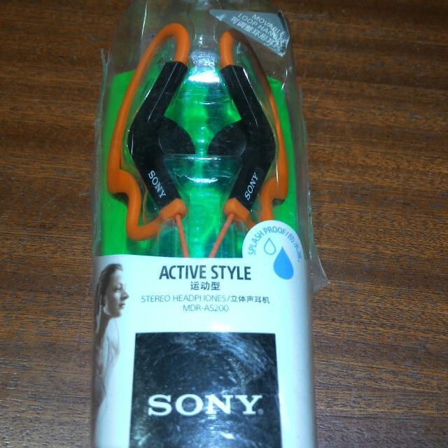 Brandnew Sony Stereo Headphone