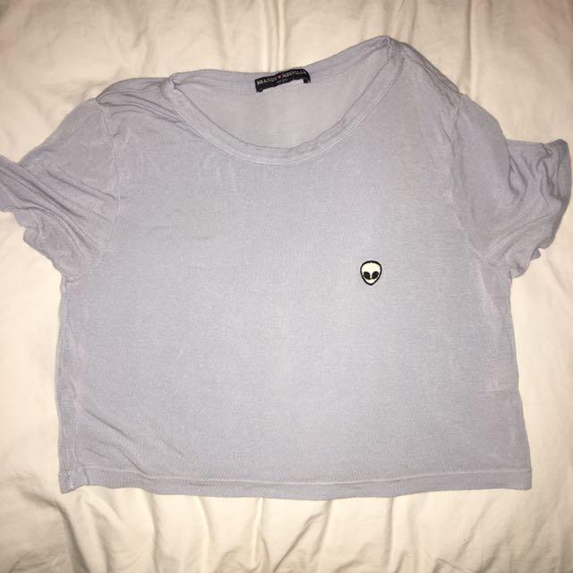 Brandy Melville Crop T-Shirt