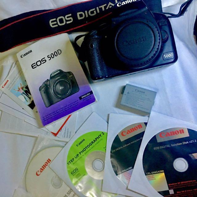 CANON EOS 500D (Full Kit)