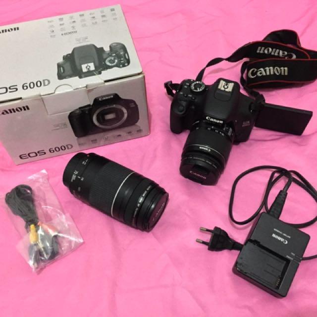 Canon Eos 600D + Canon Zoom Lens 75-300mm