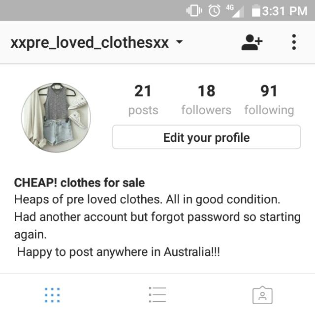 Check Out My Instagram