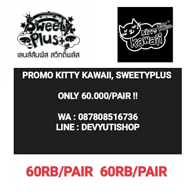 Contact Lens Kitty Kawaii Sweety Plus