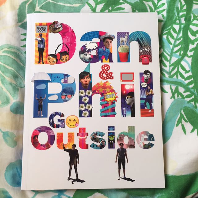 'Dan And Phil Go Outside' Book