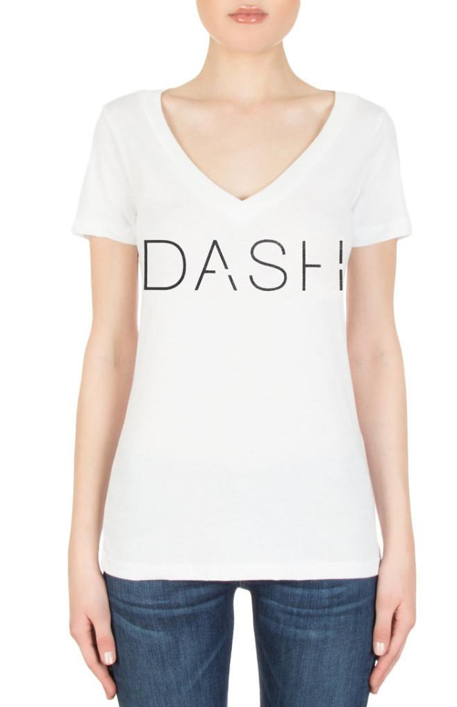 DASH White T-Shirt
