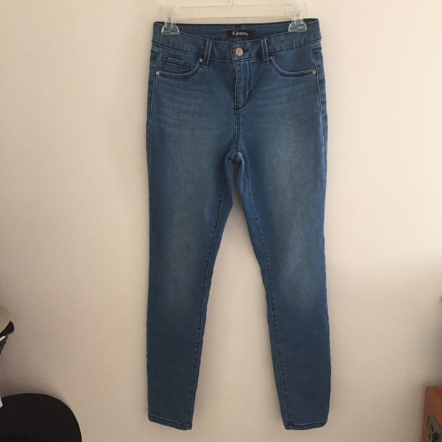 Denim Skinny Jeans-- NEW