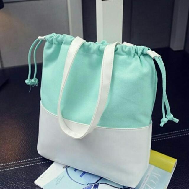 Dichromatic Tote Bag