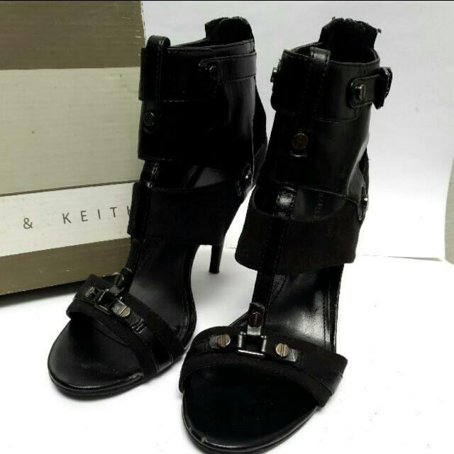 [⚠DIJUAL MURAH⚠] Black Heels CHARLES AND KEITH