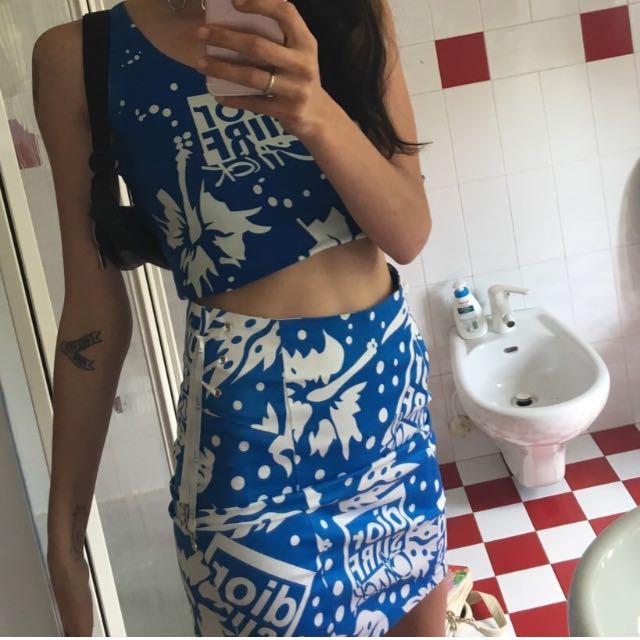 Dior Top+skirt