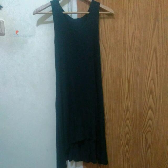 Dress Hitam Sleeveless
