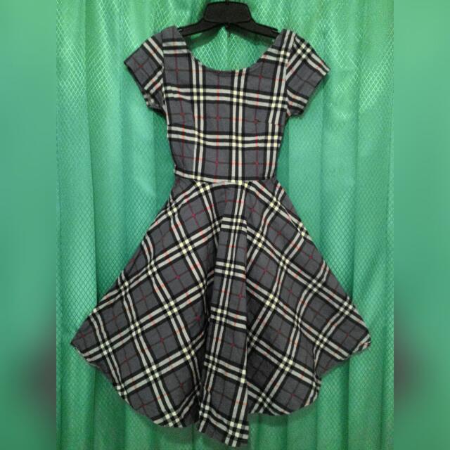 Dress Kotak2 Nego