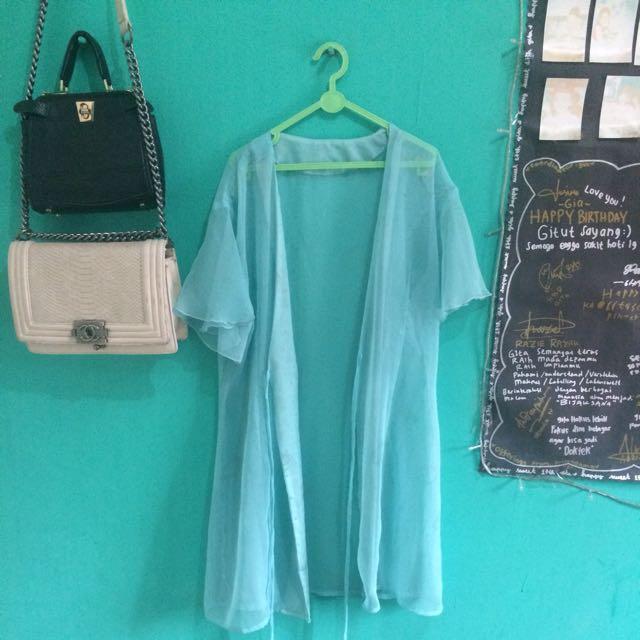 Dress Outer Tembus Pandang