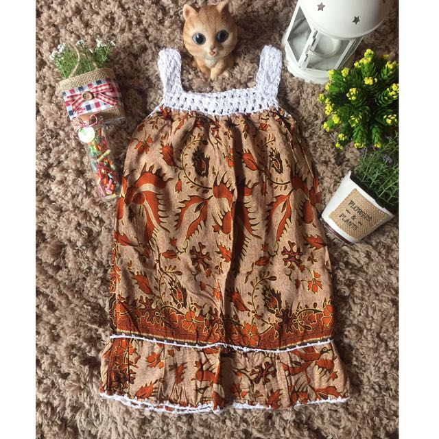 Dress Santai Anak Umur 2-3 Tahun