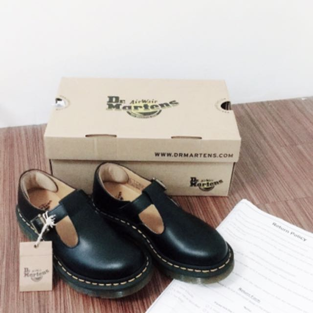 正品Dr.martens Women's Polley Mary Jane Flat 37號/23.5號