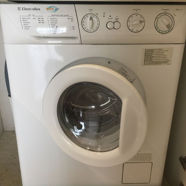 electrolux washer and dryer. Photo Electrolux Washer And Dryer