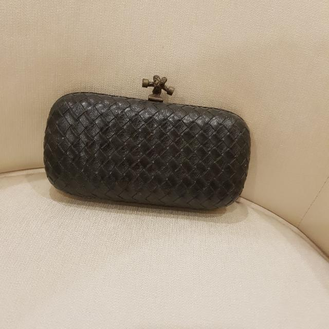 Elegant Black Clutch