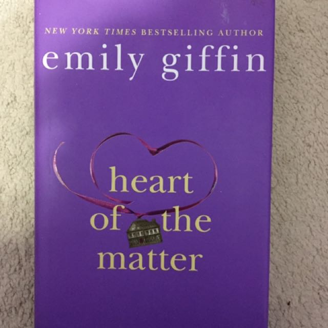 Emily Giffin- Heart Of The Matter (hardcover)