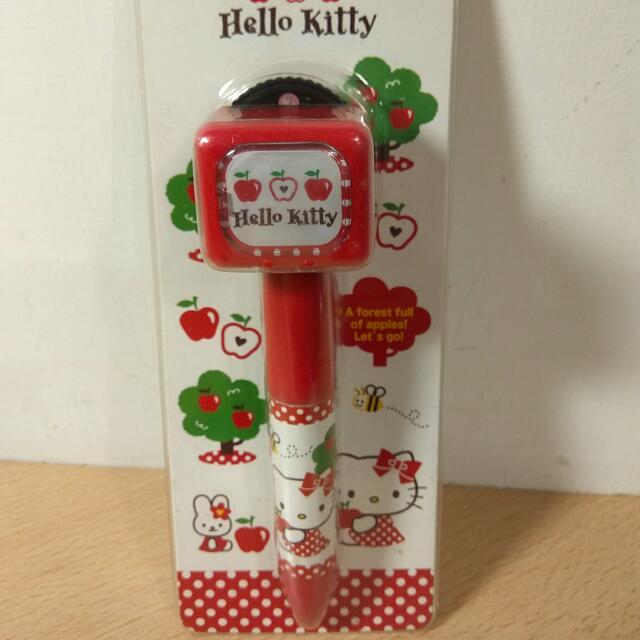 [Ericaca 愛挖寶] Hello Kitty 投影燈筆~可投影8款不同的可愛影像💗