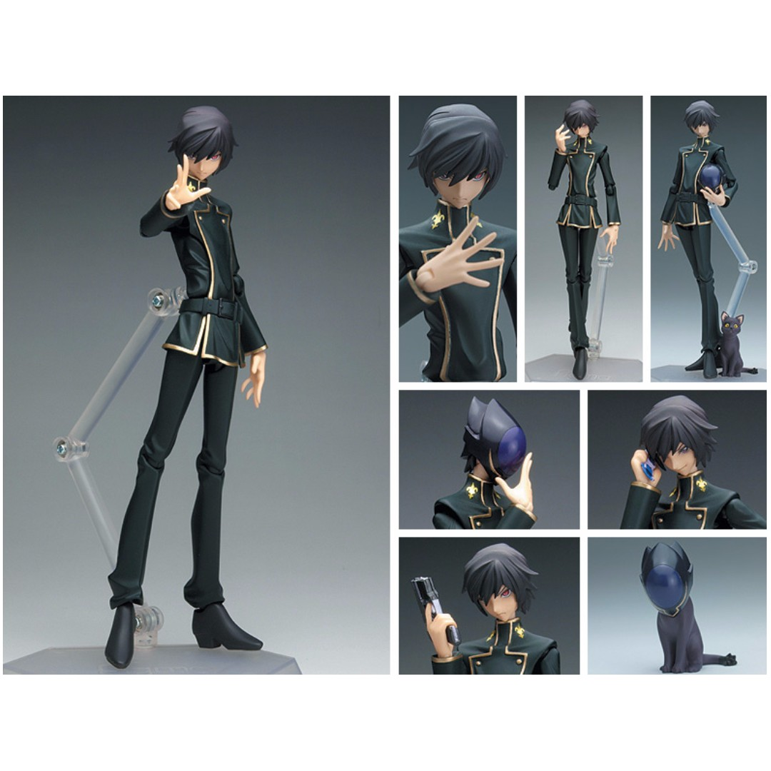Code Geass figma.BP - Lelouch Lamperouge (by Max Factory)