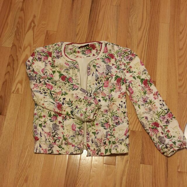 Floral Bomber - Size XXL
